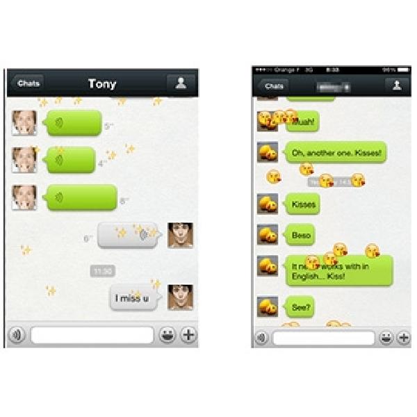 Fitur Emoticon Baru WeChat 'Hujan Emoticon'