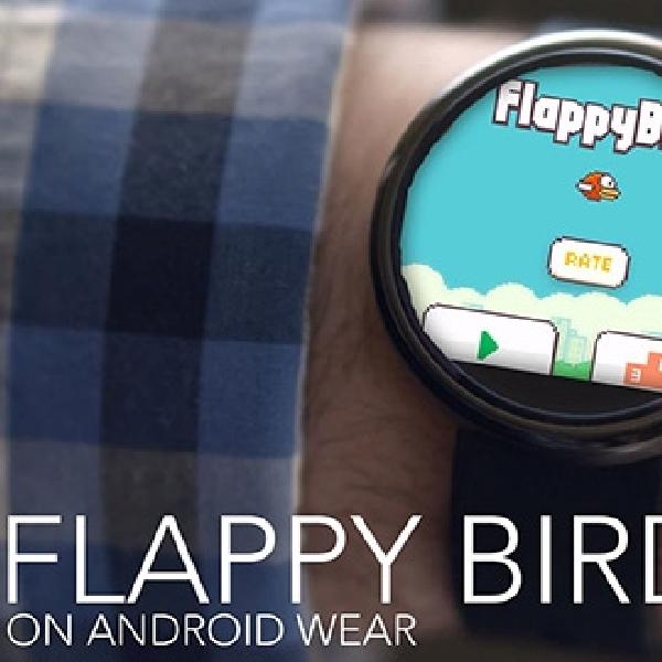 Game Seru Flappy Bird Hadir di Android Wear