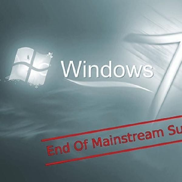 Microsoft Cabut Dukungan untuk Windows 7, Hentikan Update Software