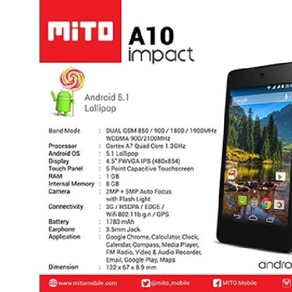 Android One Mito Impact Lakukan Promo Pre Order
