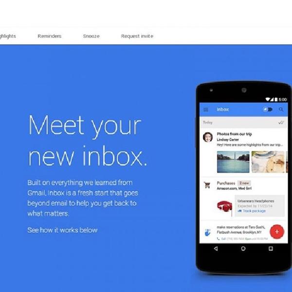 Google Mulai Tawarkan Inbox ke Pebisnis