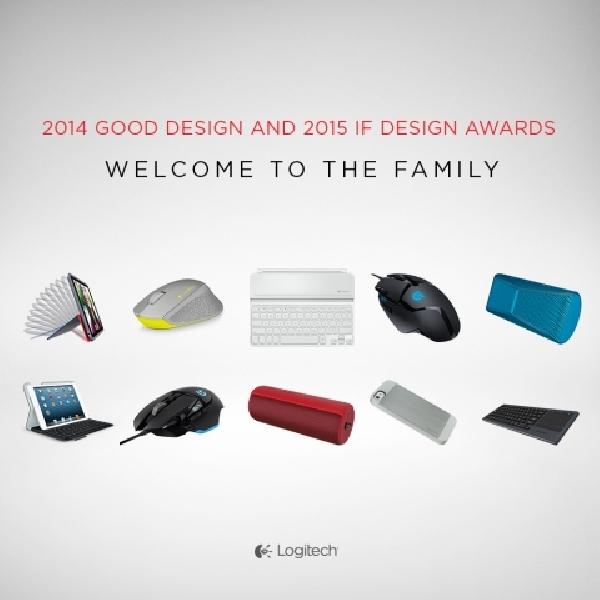Produk Logitech Sukses Rebut Penghargaan Desain Produk