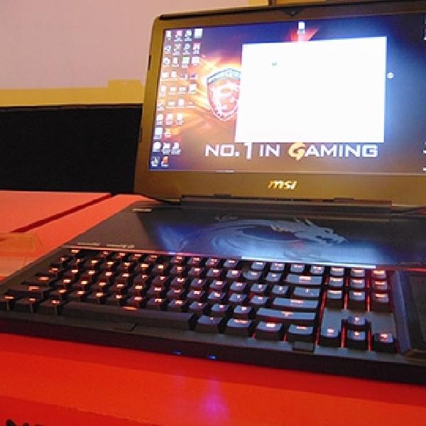 MSI Hadirkan Notebook Gaming Pertama Berfitur Mekanikal Keyboard