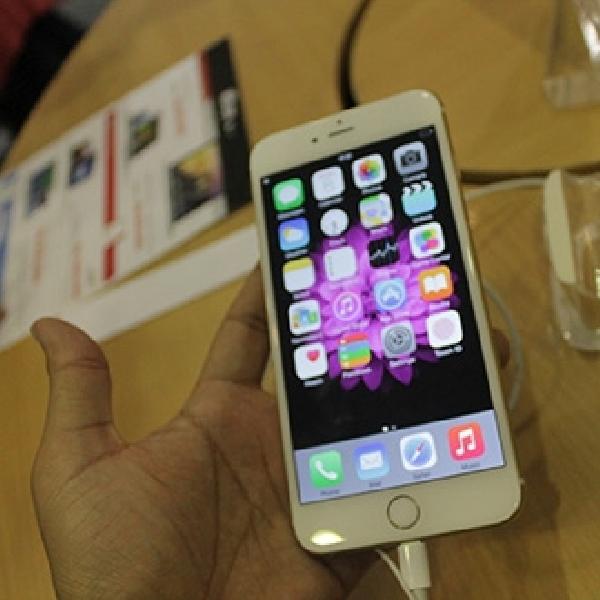 iPhone 6 Harga Rp. 9 Jutaan Laris Manis di Mega Bazaar Consumer 2015