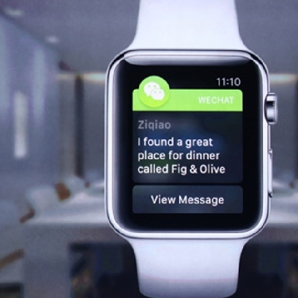 WeChat Resmi Mendarat di Platform Apple Watch