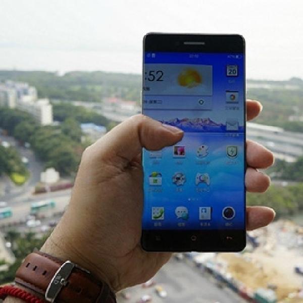 Inilah Wujud Smartphone Tanpa Bezel dari Oppo