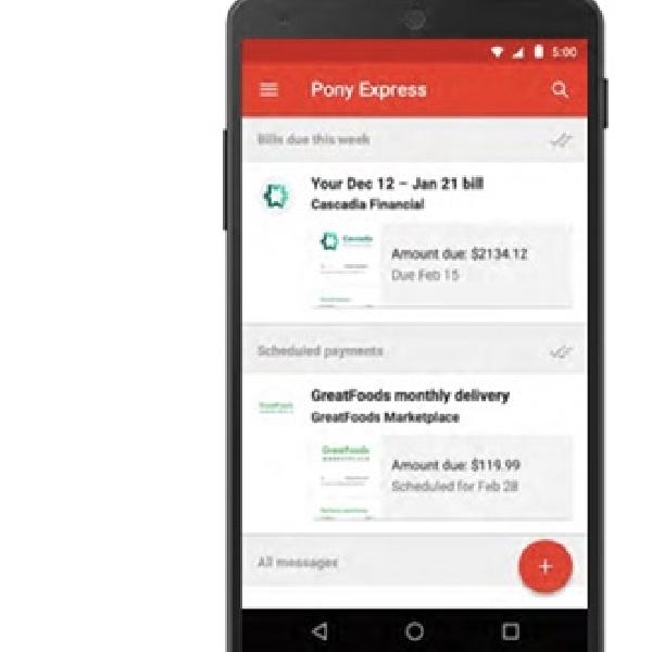 Google Segera Luncurkan Fitur Bayar Tagihan Lewat Gmail