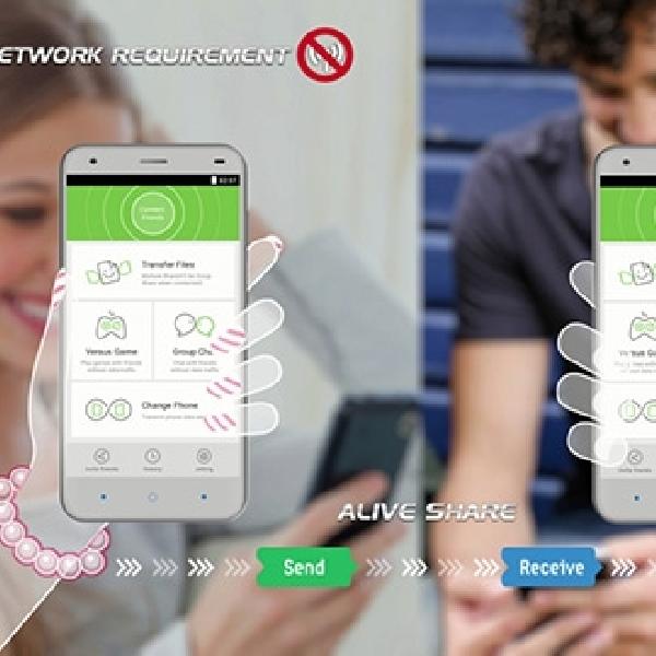 ZTE Segera Luncurkan Fitur AliveShare, Transfer Data Kilat Tanpa Kuota