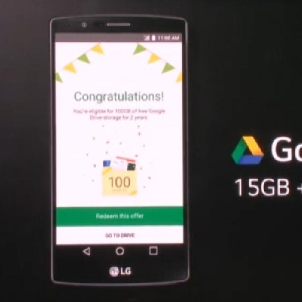 LG G4 Akan Miliki Ruang Penyimpanan Gratis Sebesar 115GB