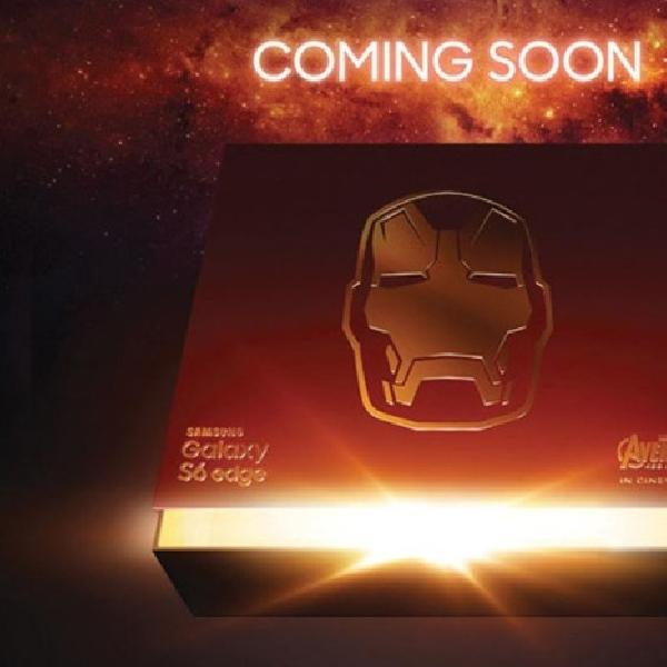 Samsung Segera Hadirkan Galaxy S6 edge Edisi Iron Man