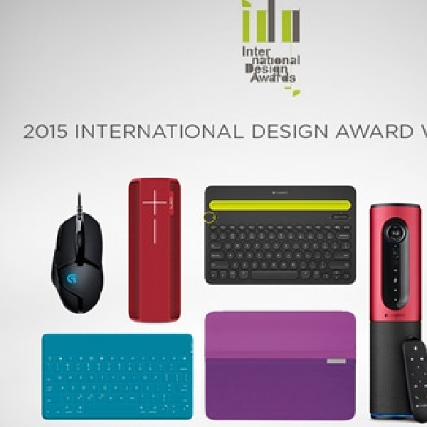 Tak Hanya Canggih, 6 Produk Logitech juga Menangkan International Design Awards