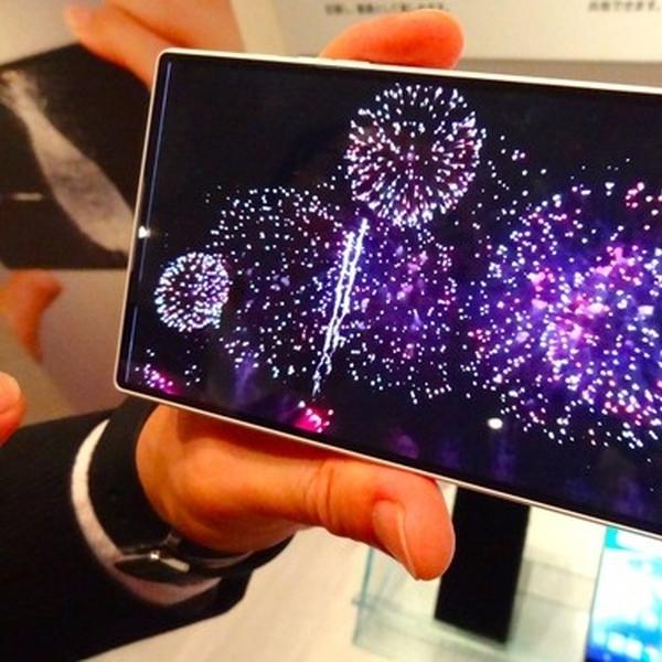 Smartphone Buatan Sharp Mampu Hadirkan Video Slow Motion Super Halus