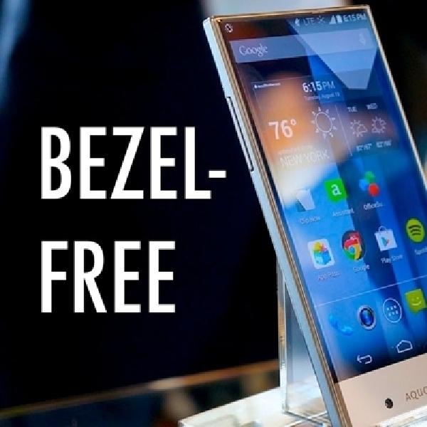 Smartphone Bezelless Sharp Aquos Crystal Masuk Indonesia