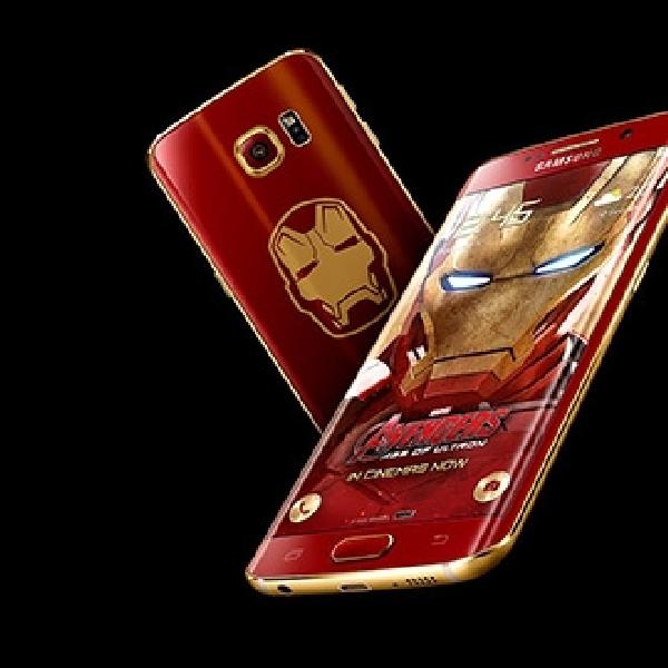 Samsung Galaxy S6 Edge Edisi Iron Man Terjual Seharga 121 Juta Rupiah