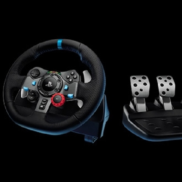 Logitech G29 Driving Force, Aksesori Setir Balap Realistik untuk PlayStation 4