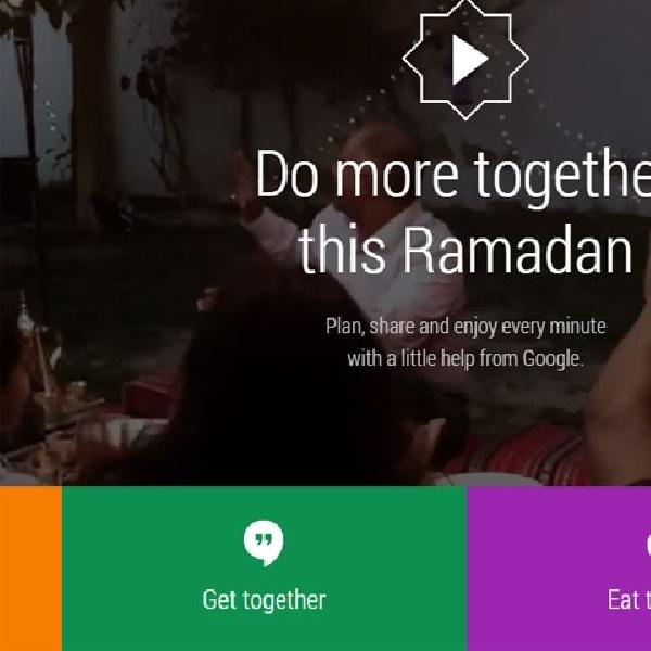 Google Sambut Ramadhan dengan Tools Baru