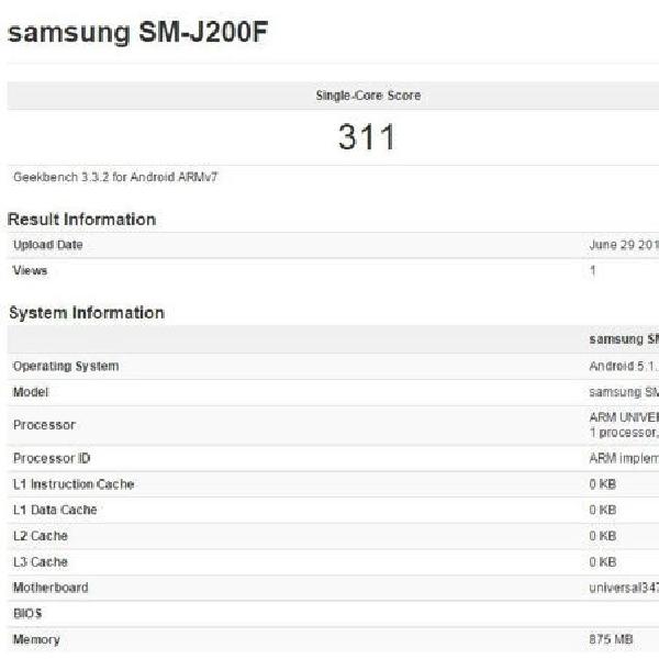 Terungkapnya Spesifikasi Samsung Galaxy J2