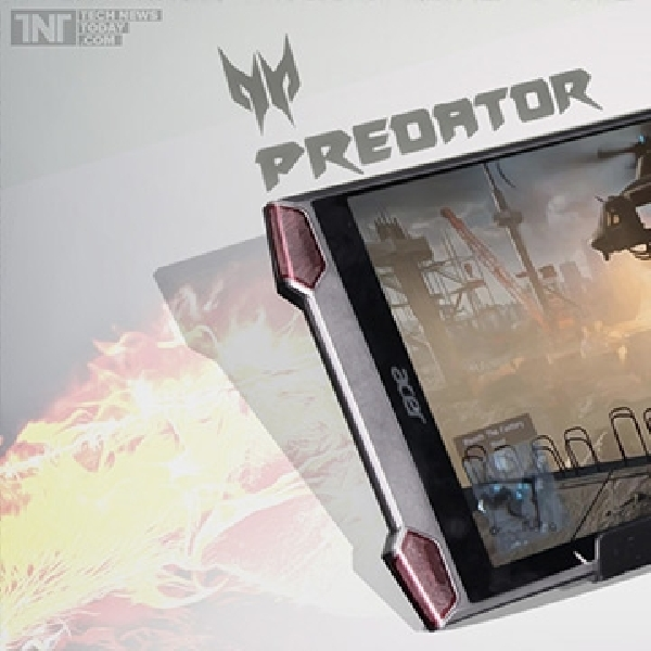 Acer Siapkan Tablet Gaming Powerfull, Predator 8