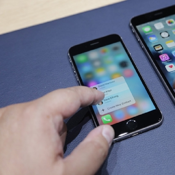 3D Touch Pada iPhone 6s Ternyata Bermasalah
