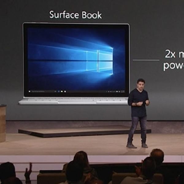 Surface 4 Pro Bawa Segudang Peningkatan, 50 Persen Lebih Cepat dari MacBook Air