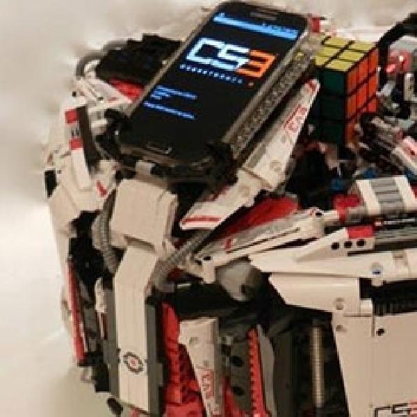 Robot Ini Tercepat di Dunia, Pecahkan Permainan Rubik