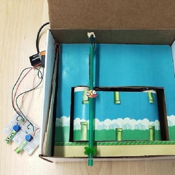 Flappy Box, Game Flappy Bird Dalam Konsep Nyata