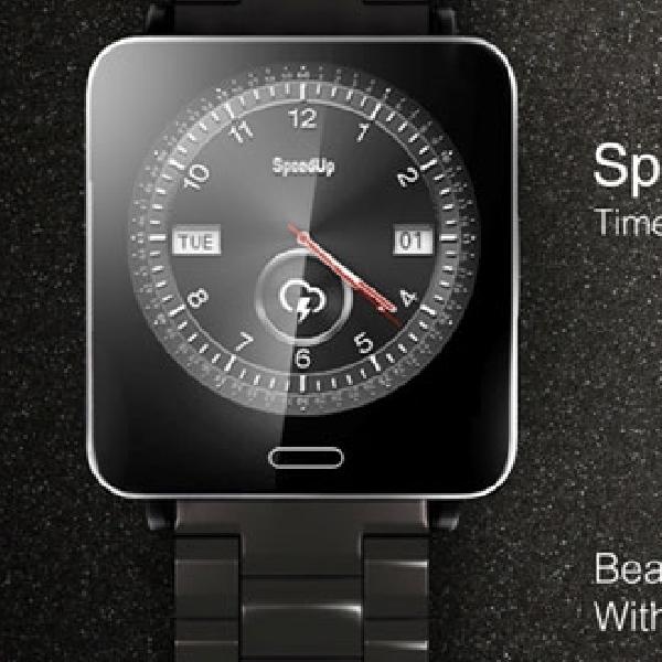 SpeedUp Hadirkan SpeedUp SmartWatch-S di Computex 2014
