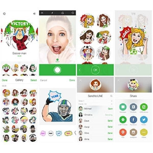Line Selfie Sticker, Buat Sticker Line Dengan Foto Selfie