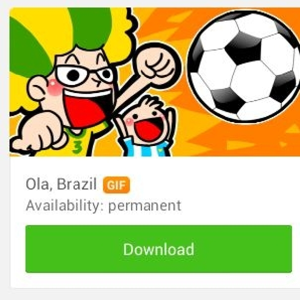WeChat luncurkan Sticker Animasi bertema Piala Dunia