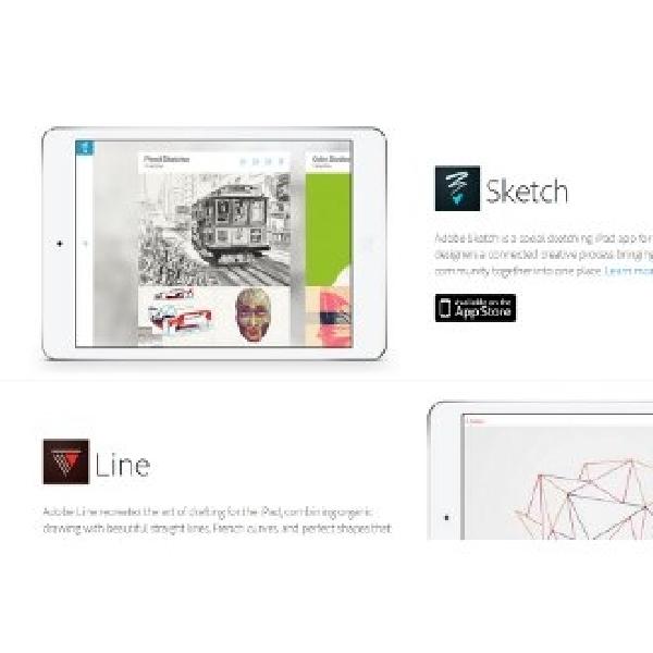 Adobe fasilitasi perangkat mobile dengan aplikasi dan hardware terintegrasi Creative Cloud Baru