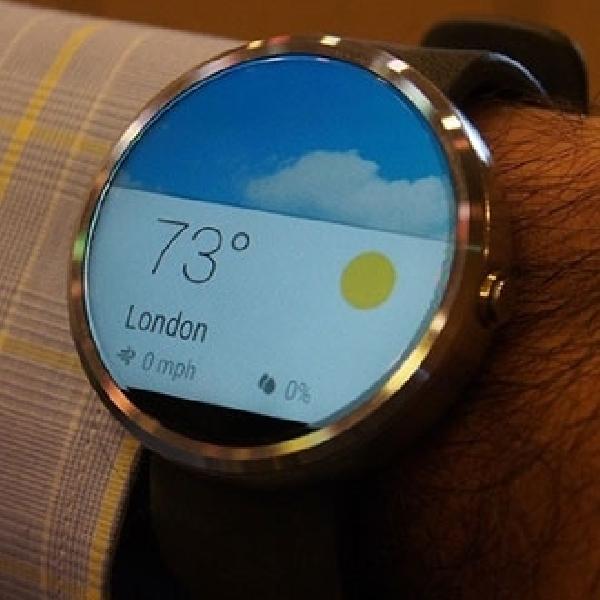Usung Desain Bulat, Smartwatch Moto 360 Akhirnya Muncul