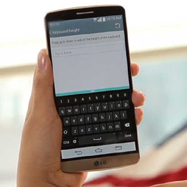 LG Berikan Perubahan Besar Pada Aplikasi Smart Keyboard
