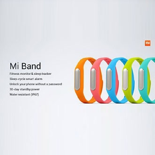 Xiaomi Band, Gelang Pemantau Kebugaran Kuat Standby 30 Hari