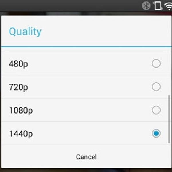 Layar QHD LG G3 Bisa Streaming Video Youtube Beresolusi 1440p