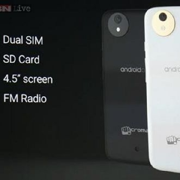 15 September, Google pamerkan Android One