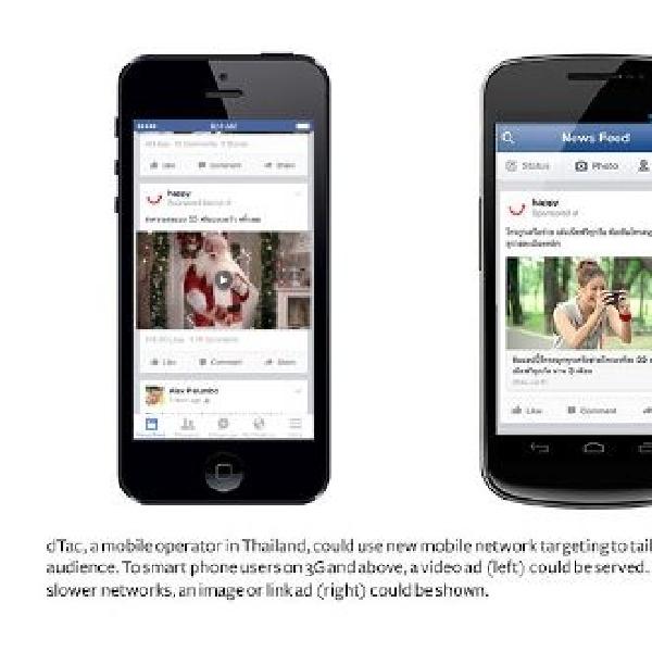 Facebook upayakan solusi Share Iklan berdasarkan kecepatan Bandwith