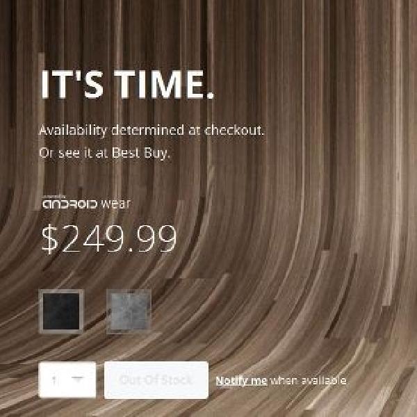 Motorola Moto 360 laris manis, sold out dalam hitungan jam
