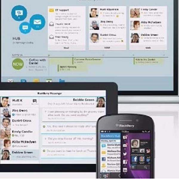 Blackberry Blend Resmi Meluncur, Kini Bisa Instal Aplikasi BBM di Desktop