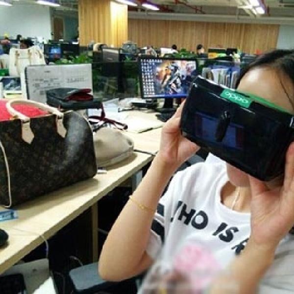 Oppo Tertangkap Gambar Ikutan Garap Headset Virtual