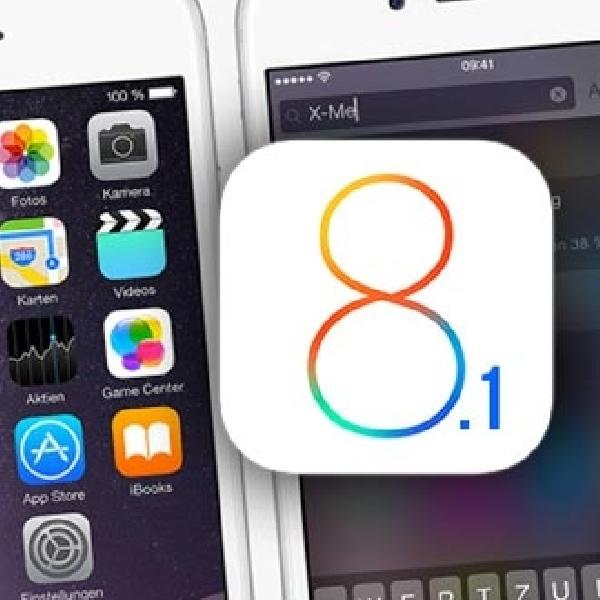 iOS 8.1 Sudah Bisa Diupgrade, Apple Lakukan Banyak Perbaikan