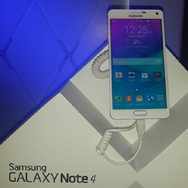 Samsung Galaxy Note 4 Mendarat di Indonesia