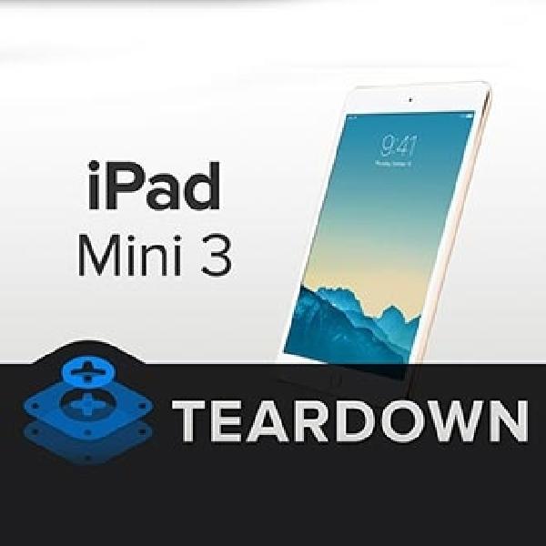 Setelah Dibongkar, iPad Mini 3 Ternyata Ringkih