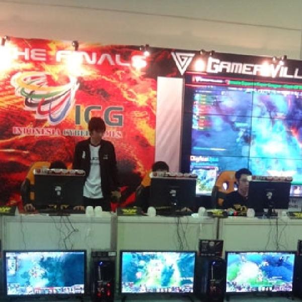 Gamer Turut Ramaikan Indocomtech 2014