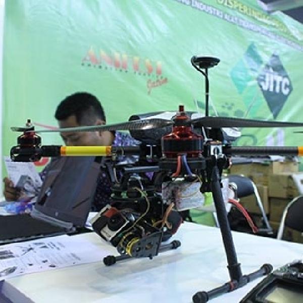 UKM Asal Malang Mampu Buat Drone Lokal Canggih