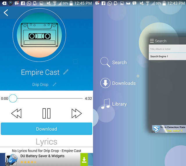Streaming dan Download Lagu Mudah via Aplikasi Android